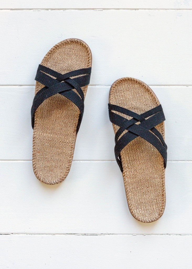 Shangies Sandals - Black - The Small Home
