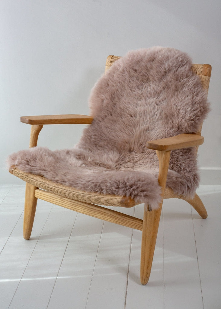 Sheepskin Rug – Rose Quartz - The Small Home