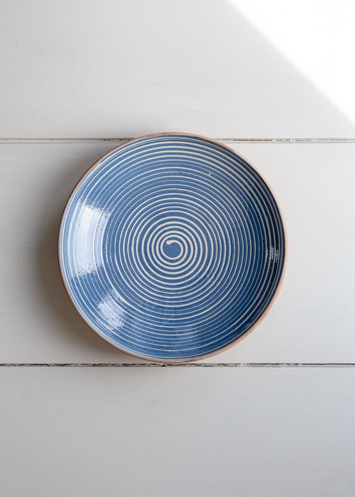 Spiral Small Serving Dish - The Small Home