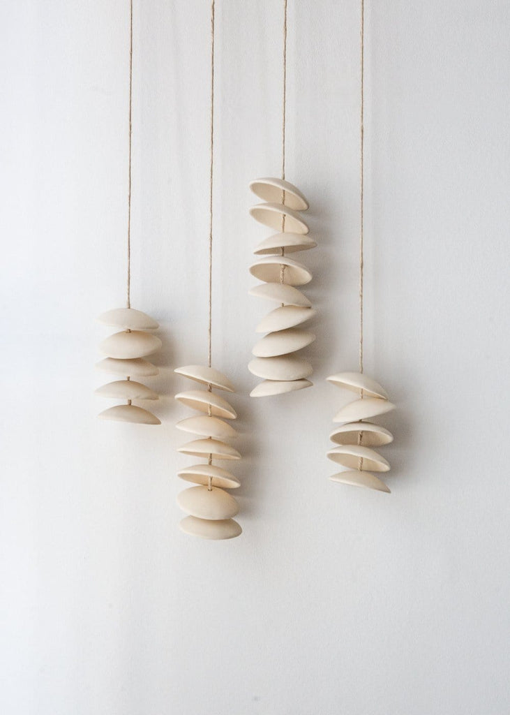 Stoneware Moon Chimes - The Small Home