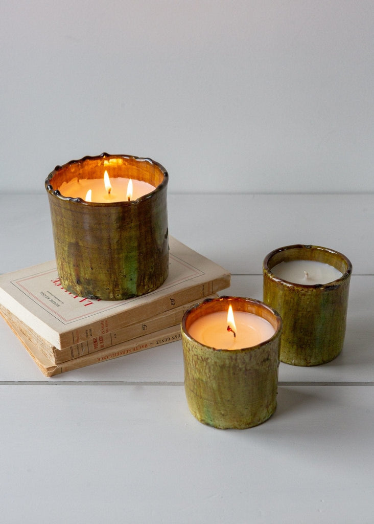 Tamegrout Candle – Amber - The Small Home