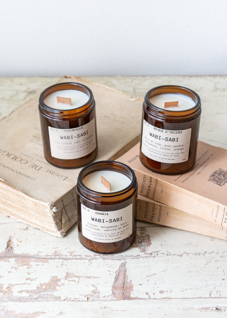 Wabi Sabi - Eco Soy Candle - Chania - The Small Home