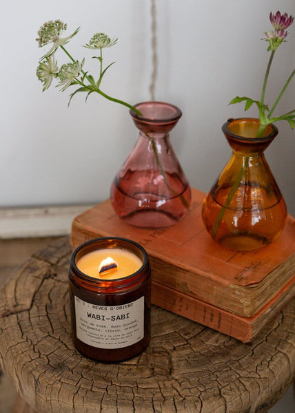 Wabi Sabi - Eco Soy Candle - Reves D'Orient - The Small Home