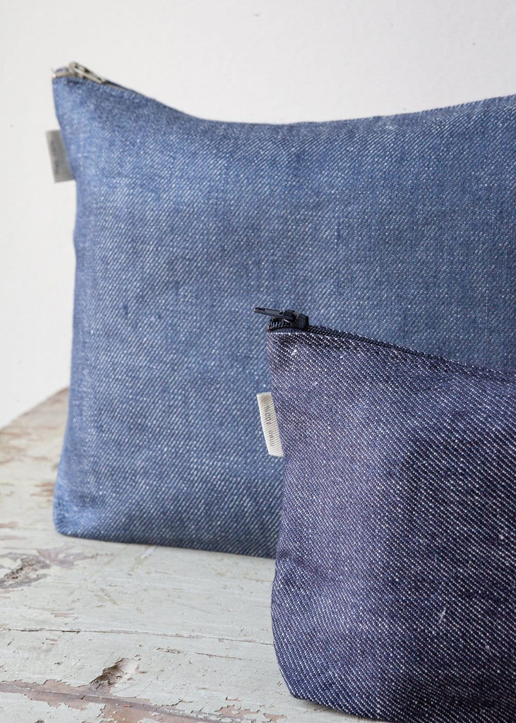 Wash Bags – Denim - The Small Home