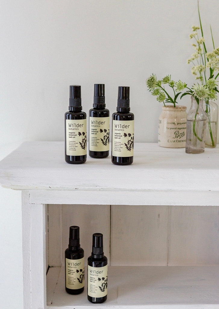 Wilder Botanics – Bath Oil - The Small Home