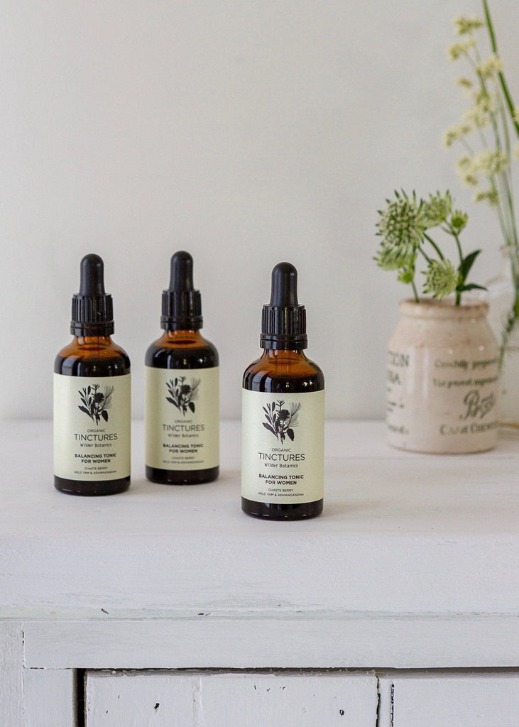 Wilder Botanics - Organic Balancing Tonic for Women - The Small Home