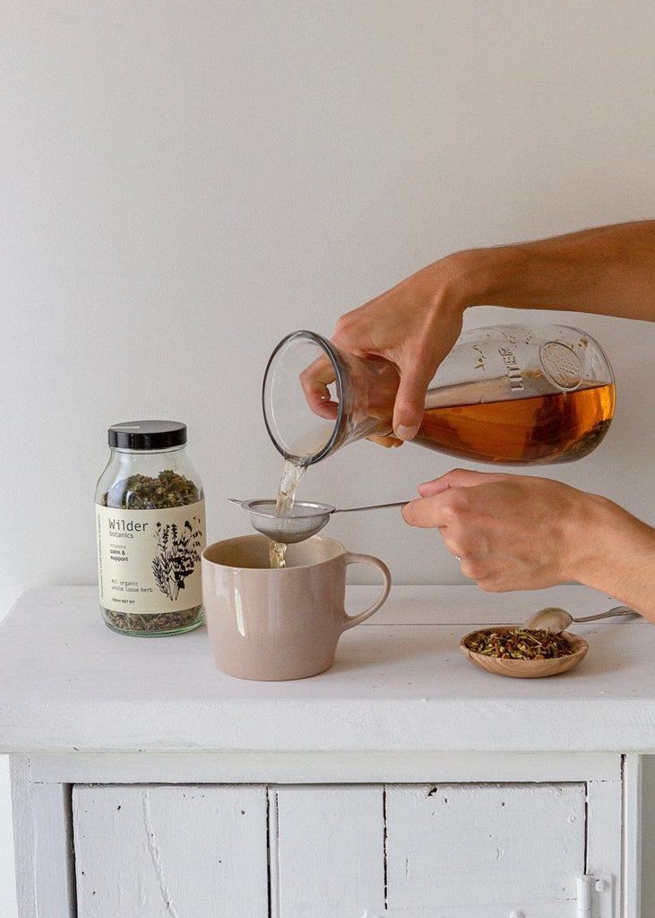 Wilder Botanics - Organic Tea Infusion - Calm & Support - The Small Home