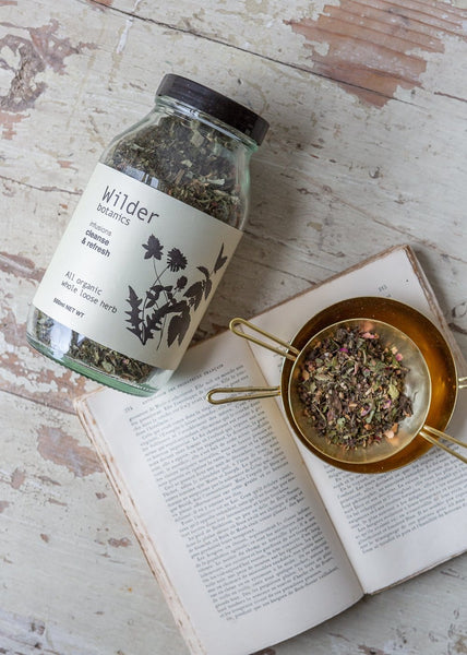 Wilder Botanics - Organic Tea Infusion - Cleanse & Refresh - The Small Home