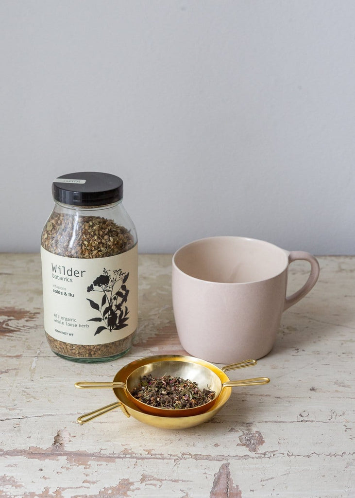 Wilder Botanics - Organic Tea Infusion - Cold & Flu - The Small Home