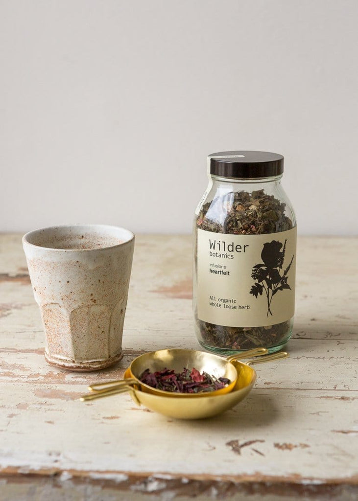 Wilder Botanics - Organic Tea Infusion - Heartfelt - The Small Home