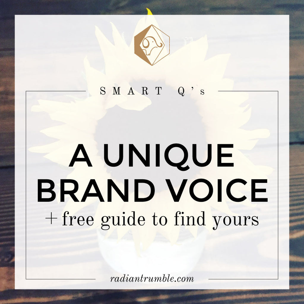 A Unique Brand Voice: Smart Questions Blog
