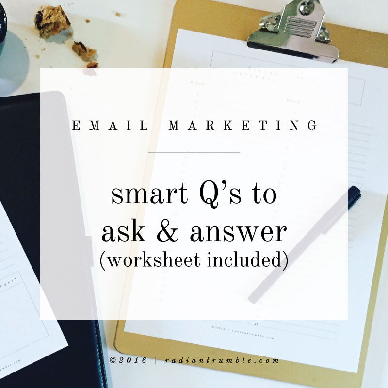 Email Marketing: Smart Questions Blog