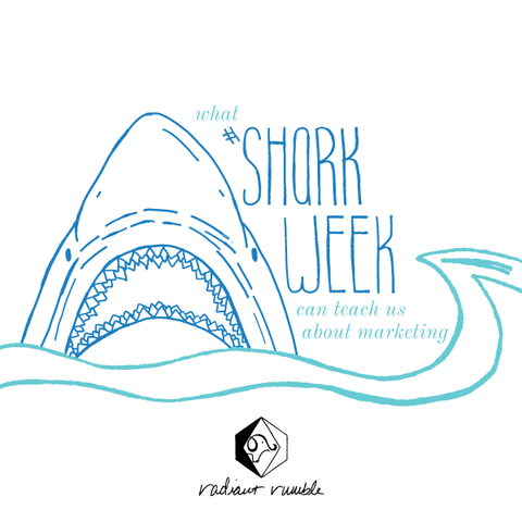 what #SharkWeek can teach us about marketing - radiantrumble.com