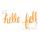 Hello Fall Free Wallpaper for phone and desktop + shop radiantrumble.com