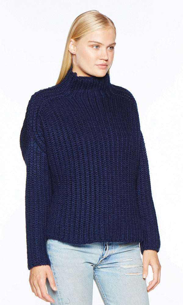 ECHOS Navy Sweater
