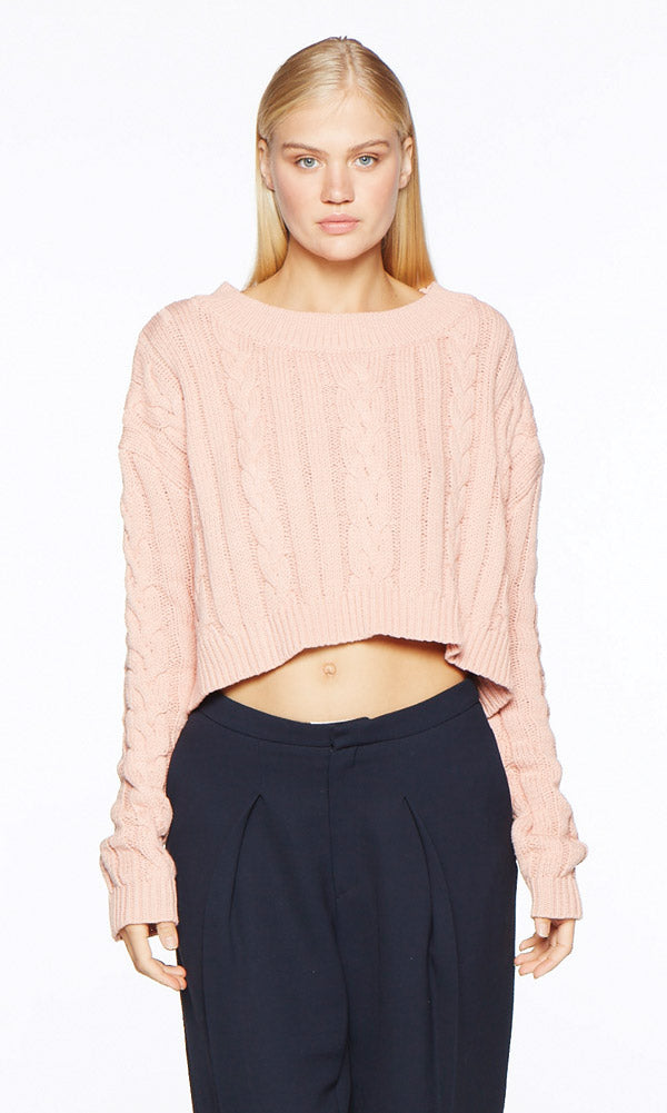 FIONA Pink Sweater - SOLD OUT
