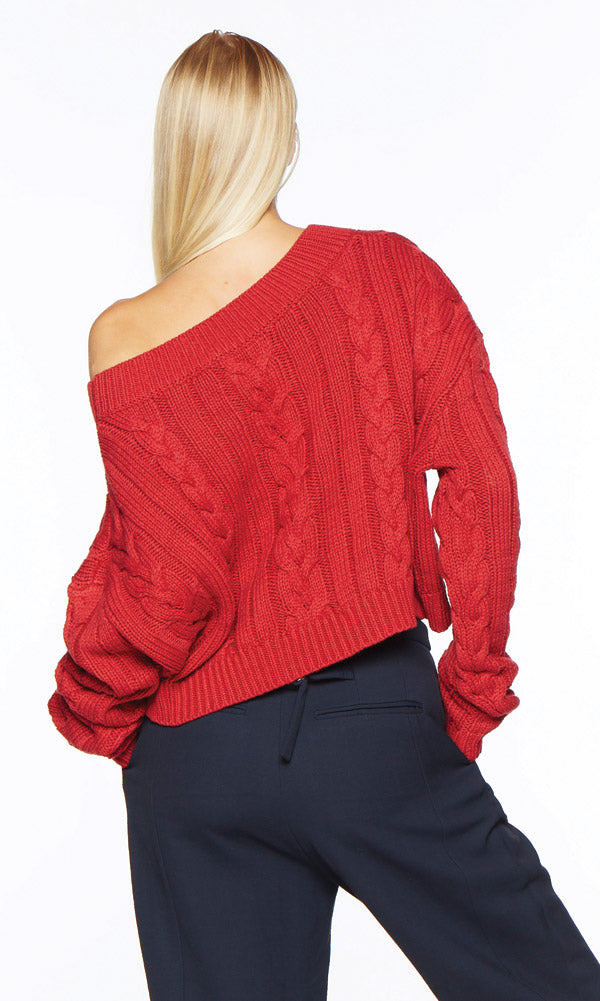 FIONA Red Sweater