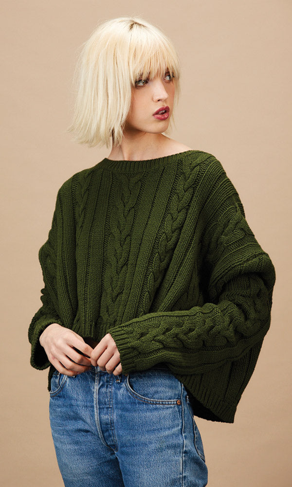FIONA Forest Sweater