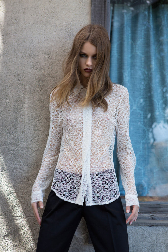 GRAHAM Lace Blouse