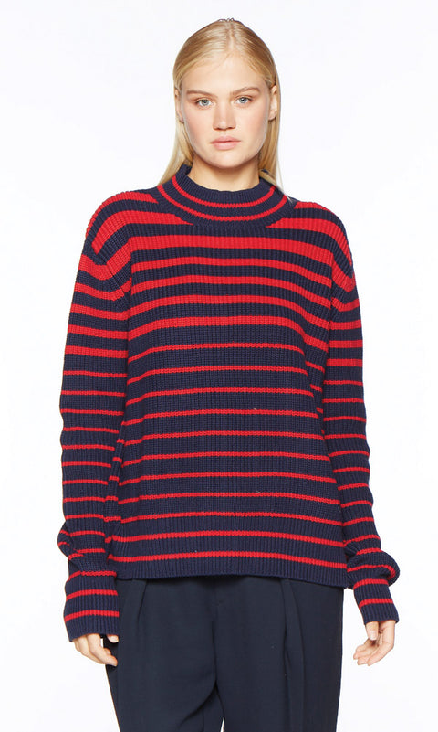 PIPER Navy Sweater