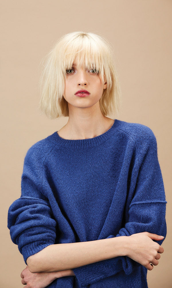 RAMONE Blue Sweater