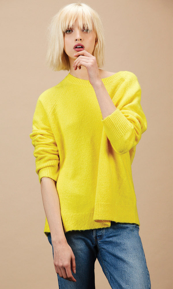 RAMONE Yellow Sweater