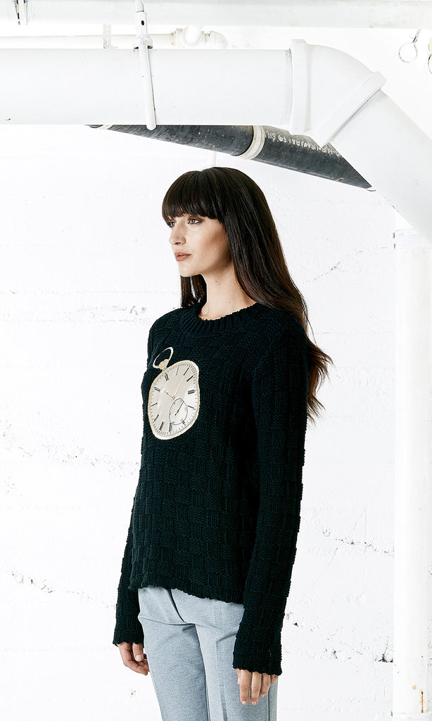 SEVEN AND SEVEN Embroidered Sweater