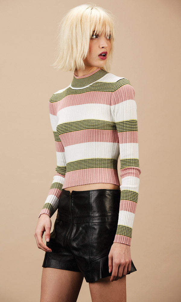 WINONA Pink Crop Sweater - SOLD OUT