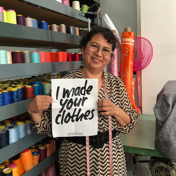 Go Ahead and Ask Us... #whomademyclothes