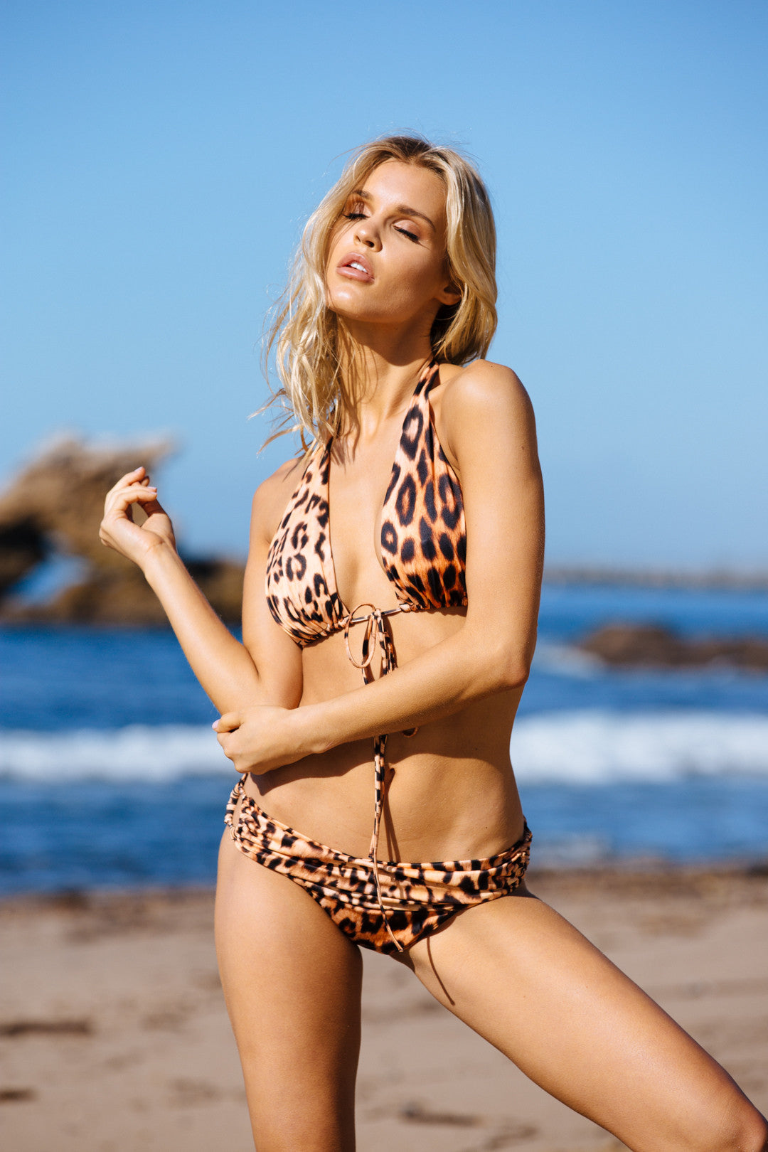 HAH FORGIVA-KINI BOTTOM - LANKA LEOPARD