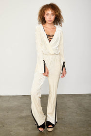 Jump On It Jumpsuit | Almond Milk