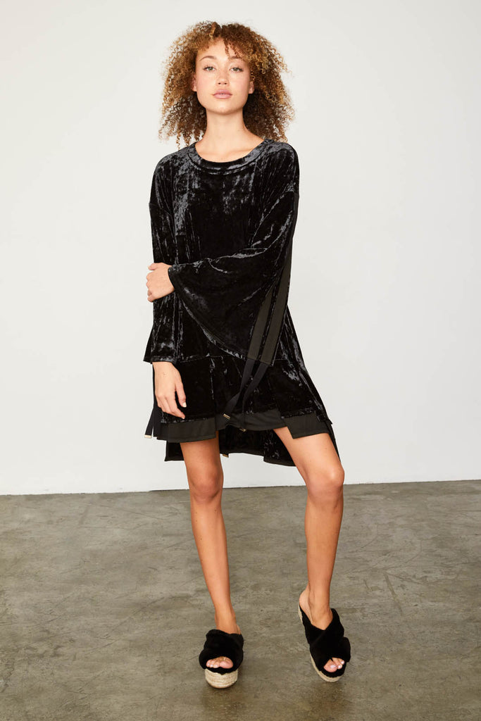 PHAHT CITY DRESS | NOIR
