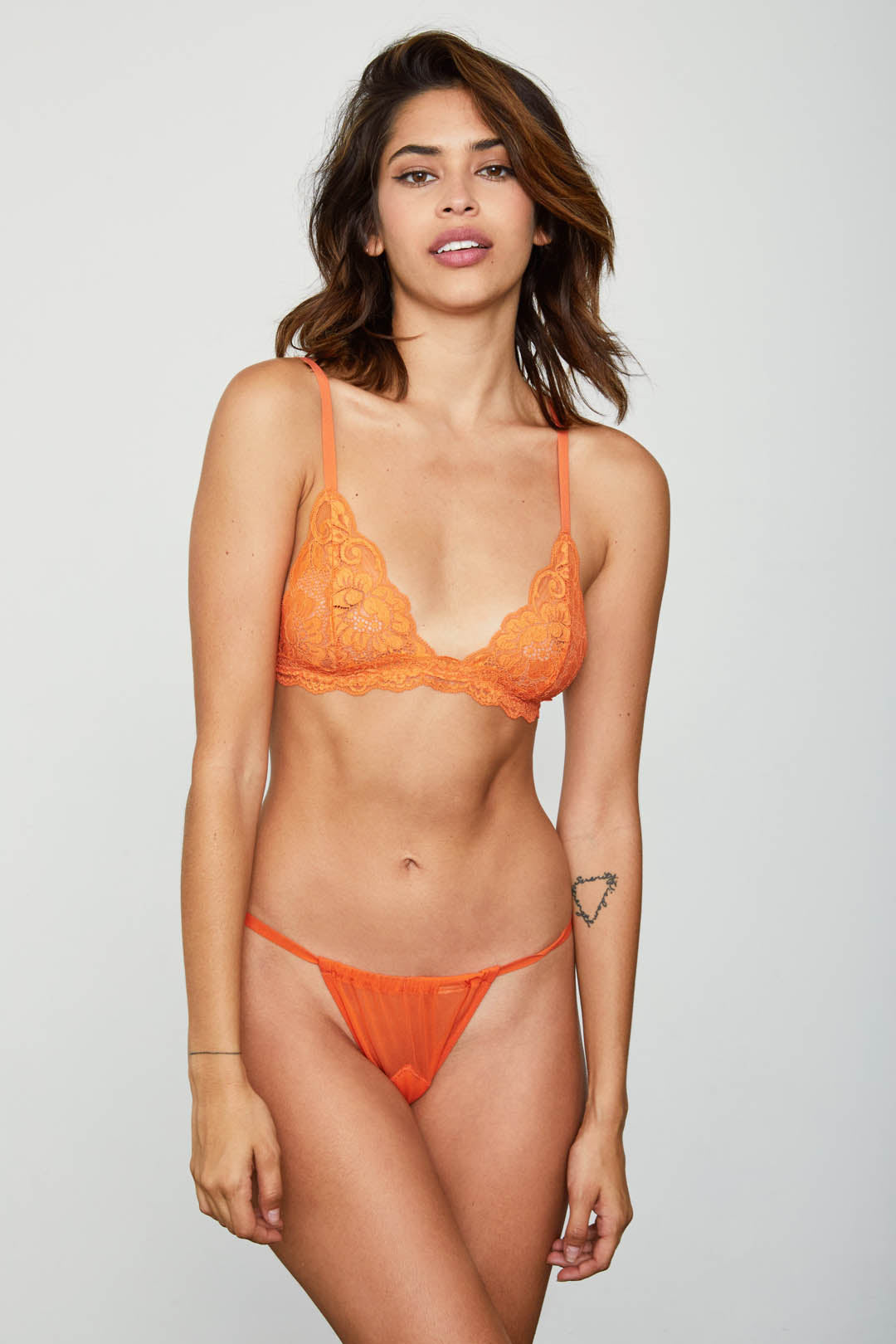 2 A T-STRING PANTY | BURNT ORANGE