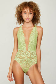 Comin' In HAHt Lace Bodysuit | Sage My Name