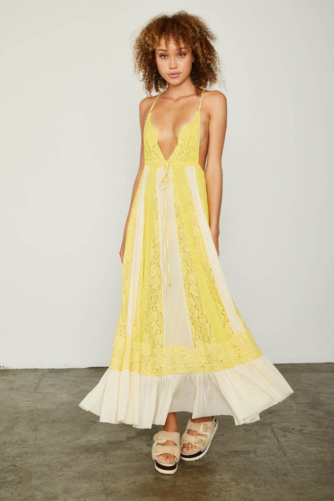 I'LL TAKE U FARRER DRESS | LEMON DROP