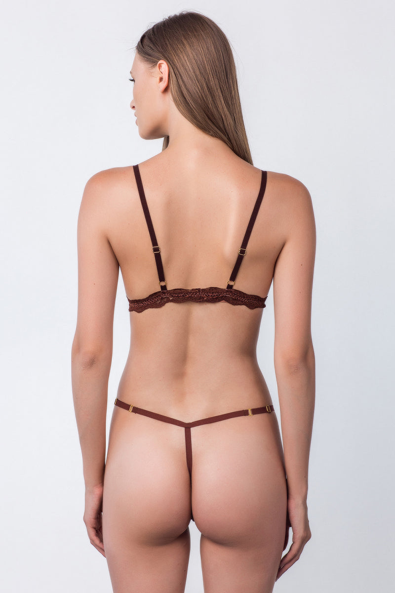 2 A T-String Panty | Cocoa