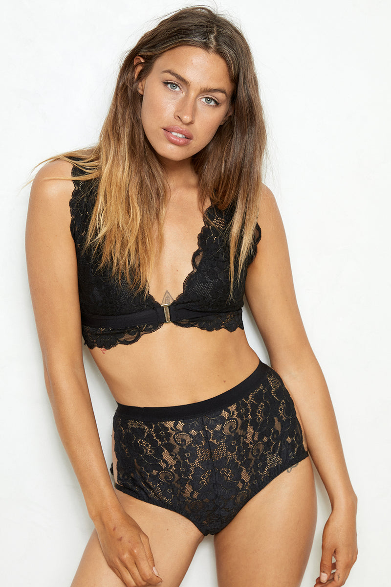 Easy Access Panty | Noir