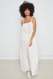 Mad Maxi Dress | Eggshell
