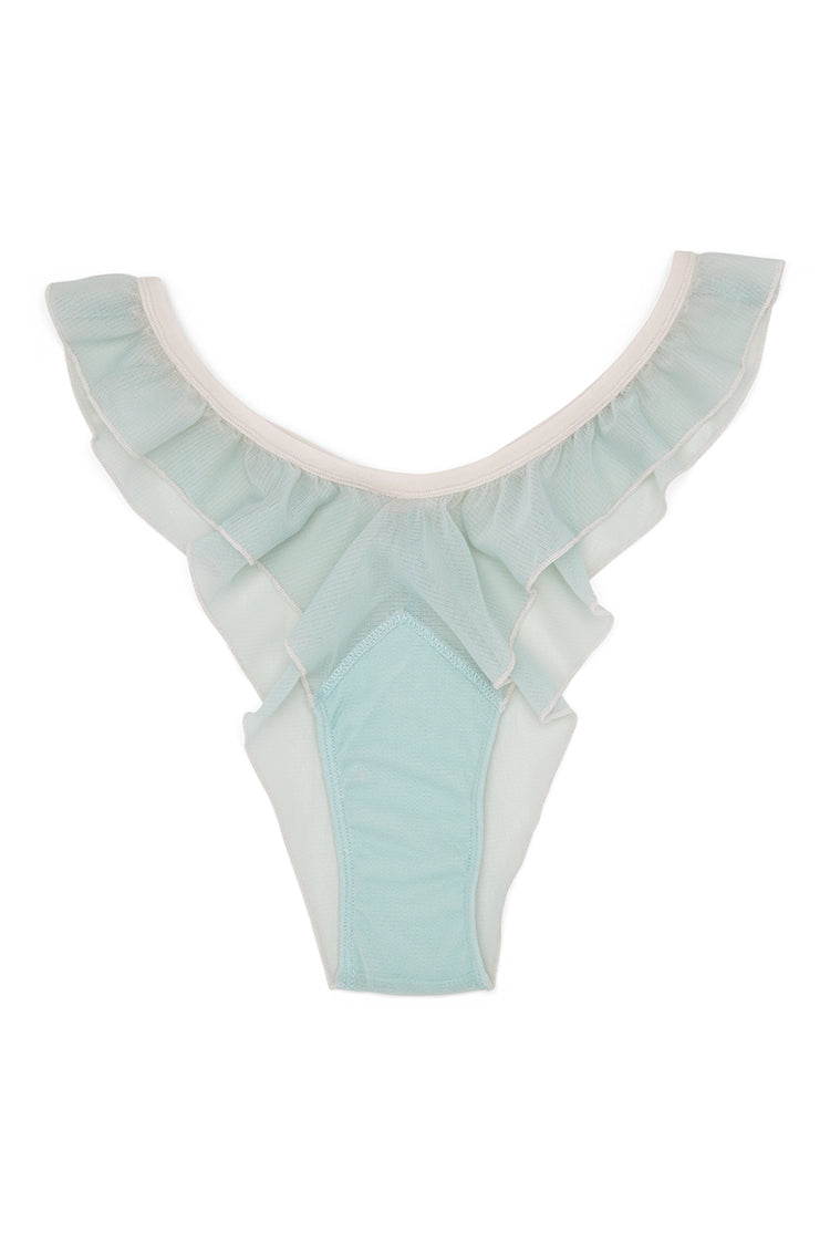 Fly Girl Mesh Panty | Something Blue