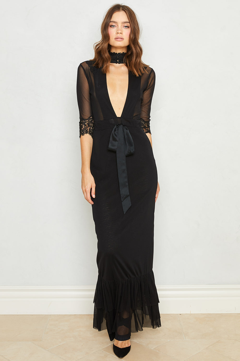 Take HAH Bow Dress | Noir