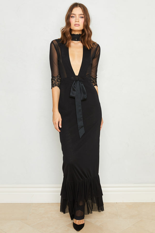 Reversible Take HAH Bow Dress | Noir