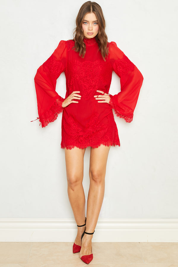Queen 4 A Day Dress | Rouge Red