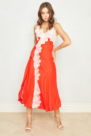 Dancing Queen Dress | Blood Orange