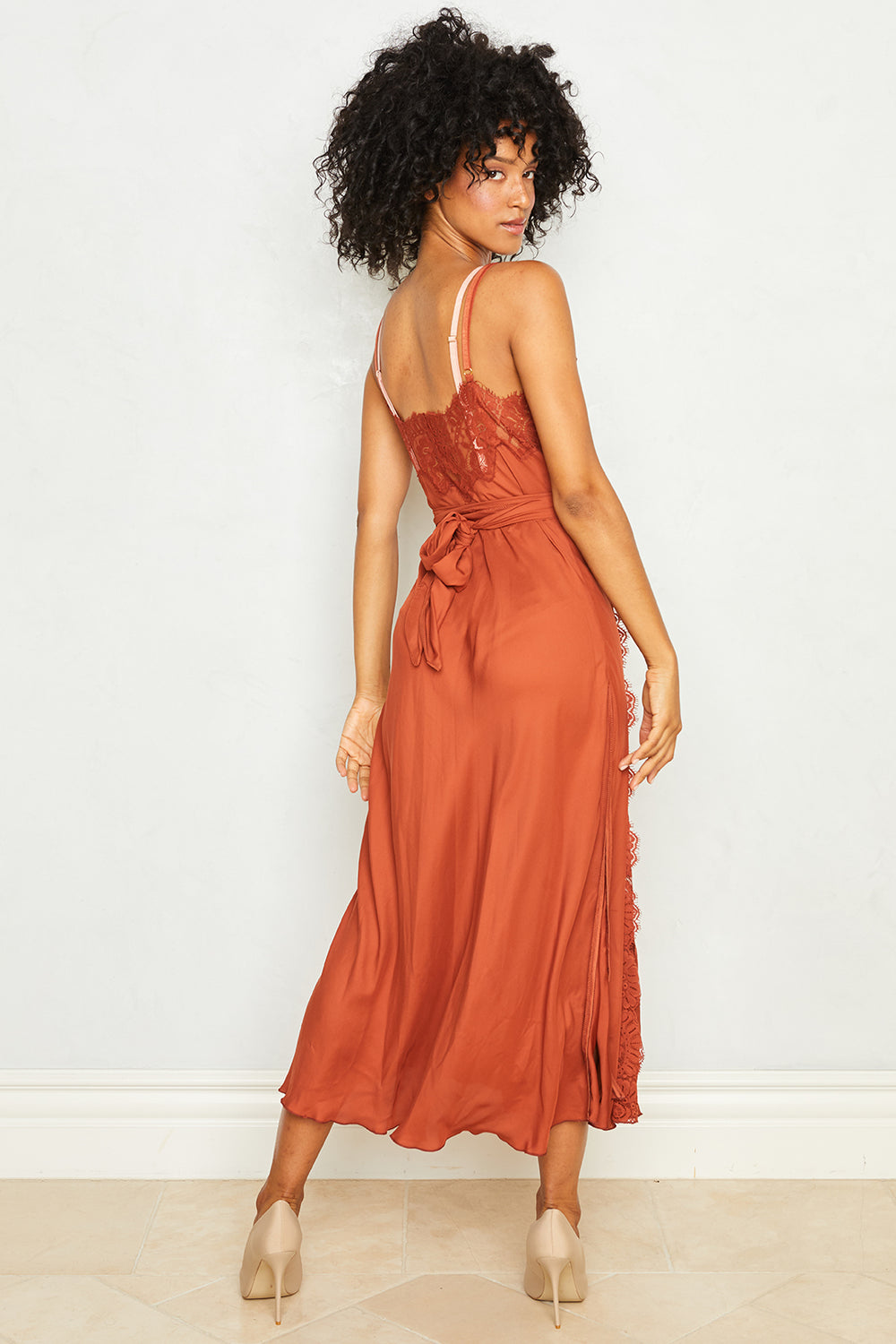 Dancing Queen Dress | Bronze