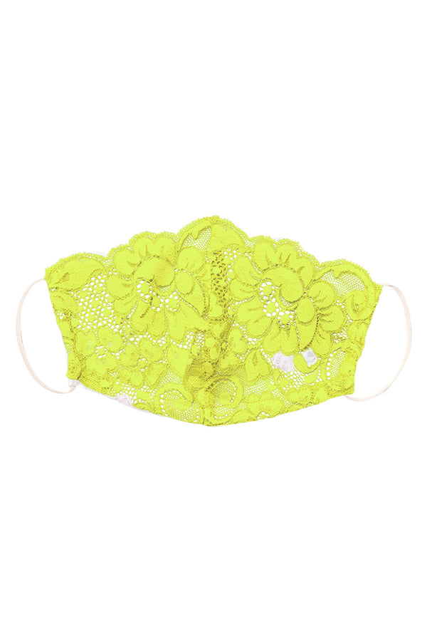 HAHT Mask Lace | Lime Lite
