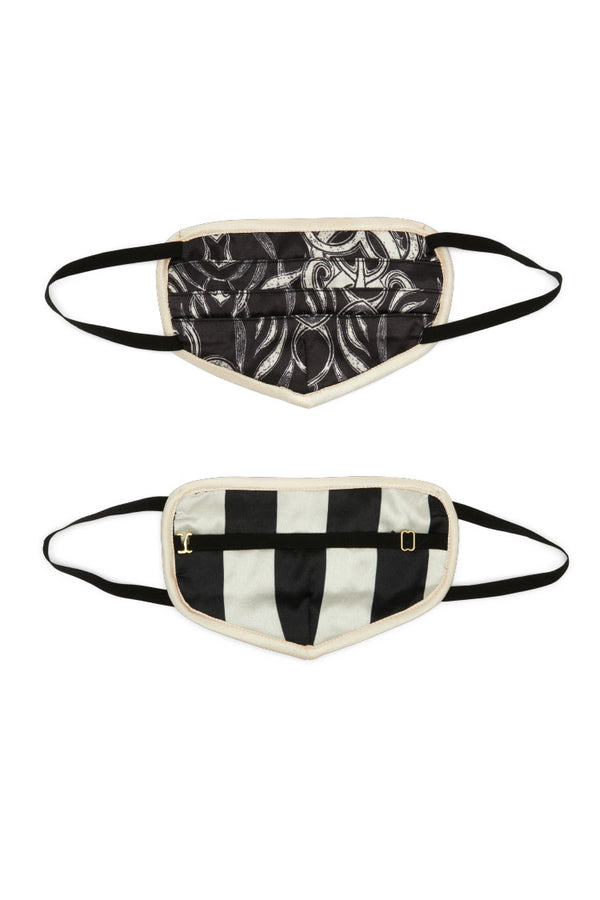 HAHT Mask | Stripes Noir