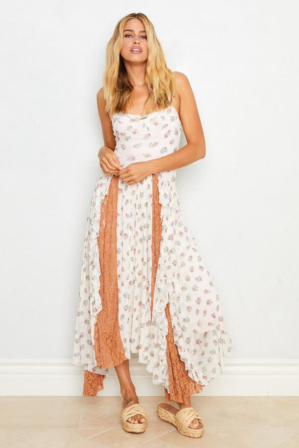 All Ruffled Up Dress | Cheap Perfume Ivory