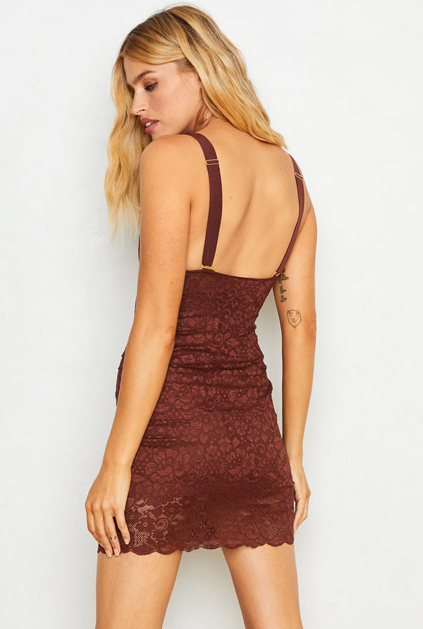 Tight Squeeze Dress | Cocoa