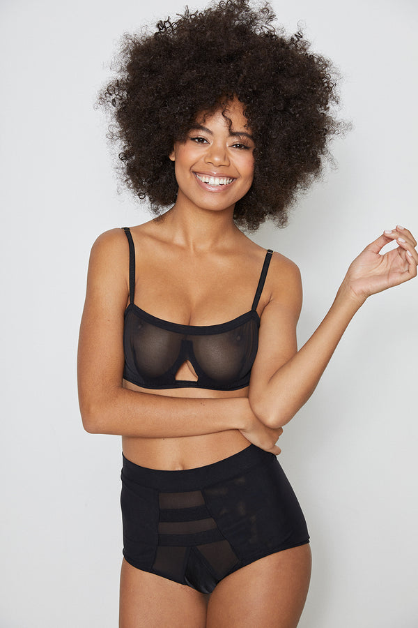 Wired Bra | Noir