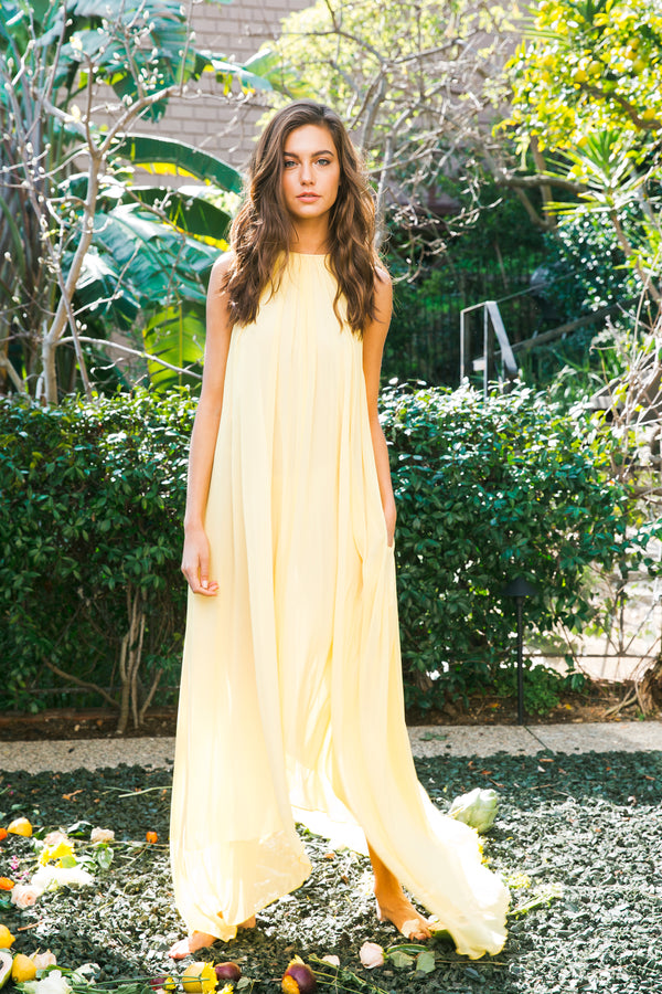 Split At The Seams Dress | Lemon Drop